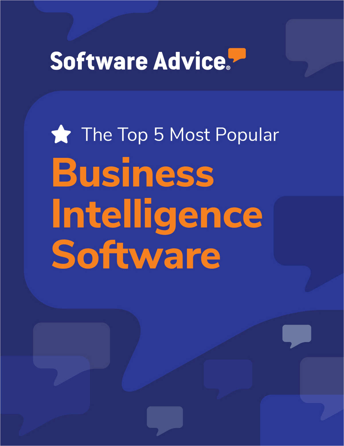 Software Advice's Top 5: Most Popular Business Intelligence Software