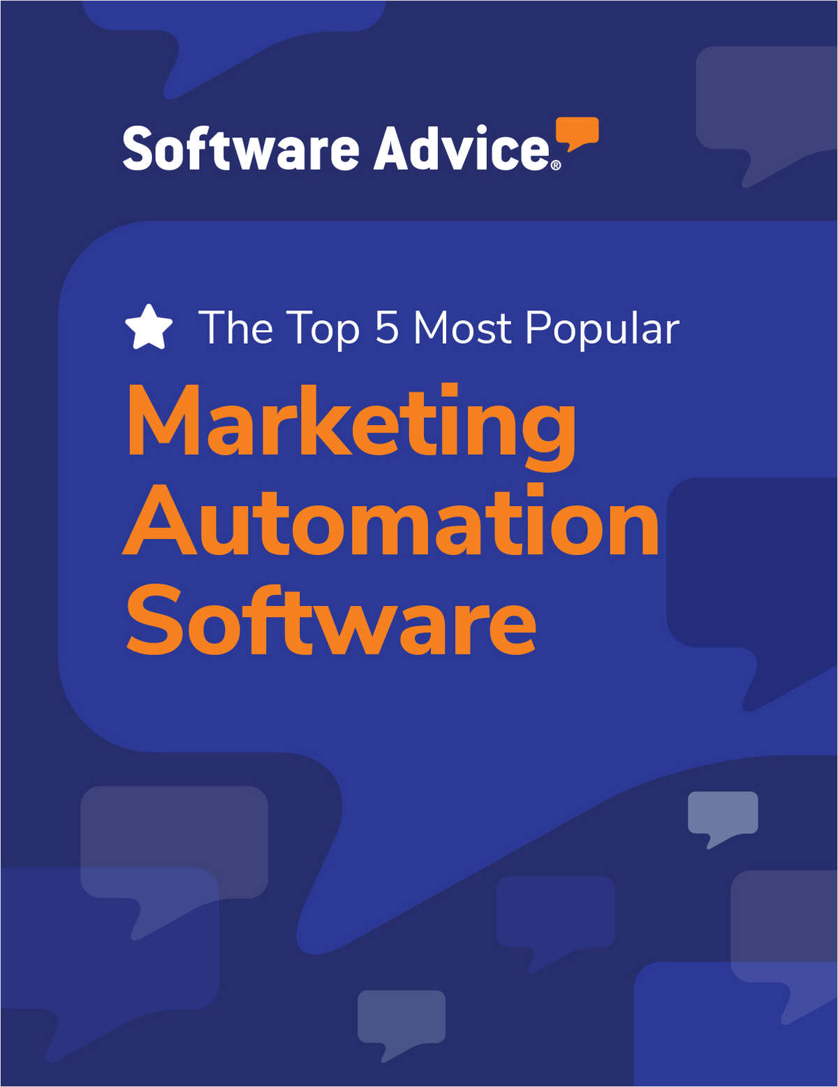 Software Advice's Top 5: Most Popular Marketing Automation Software
