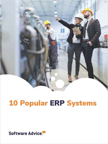 Software Advice's Top 10: Most Popular ERP Software