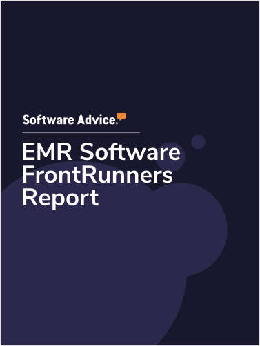 Updated: Top Rated FrontRunners for Electronic Medical Record (EMR) Software