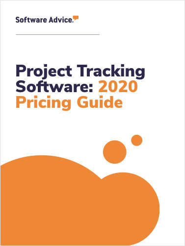 Updated Project Tracking Software Pricing Guide from Software Advice