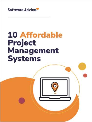 Software Advice's Top 10: Most Affordable Project Management Systems