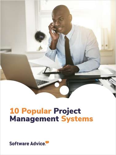 Software Advice's Top 10: Most Popular Project Management Software