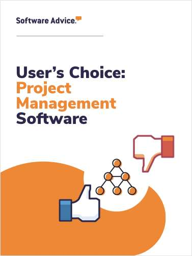 Software Advice's Top 5 User Rated Project Management Software