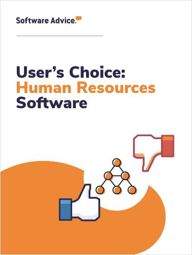 Software Advice's Top 5 User Rated Human Resources Software