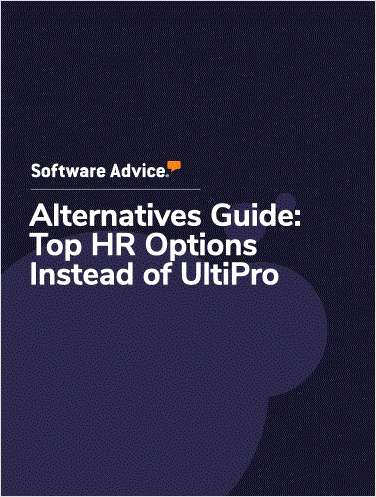 Software Advice Alternatives - Top 5 UltiPro Competitors