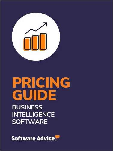 Business Intelligence Software: 2020 Pricing Guide