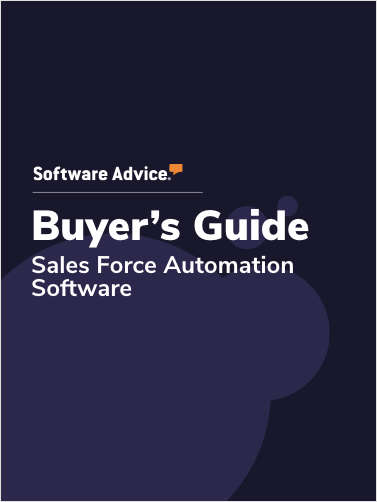 A 2020 Buyer's Guide to SFA Software