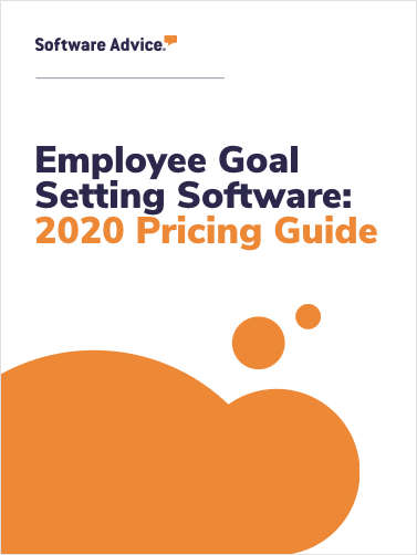 Employee Goal Setting Software: 2020 Pricing Guide