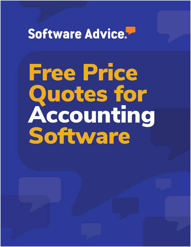 Get Free Accounting Software Price Quotes!