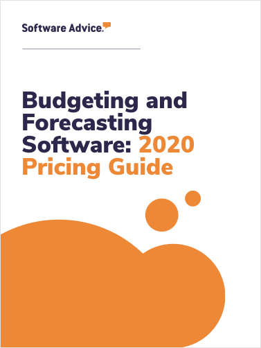 Budgeting and Forecasting Software: 2020 Pricing Guide