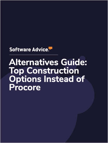 Software Advice Alternatives Guide: 5 Top Construction Options Instead of Procore