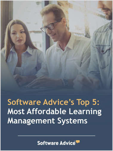 Software Advice's Top 5: Most Affordable Learning Management Systems