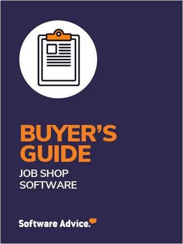 A 2020 Buyer's Guide to Job Shop Software