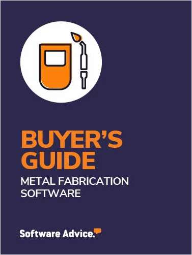 A 2020 Buyer's Guide to Metal Fabrication Software