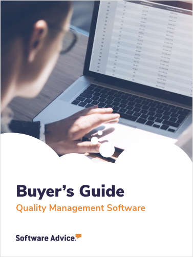 A 2020 Buyer's Guide to Quality Management Software