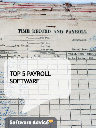 The Top 5 Payroll Software - Get Unbiased Reviews & Price Quotes