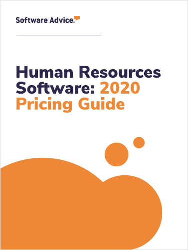 Human Resources Software: 2020 Pricing Guide
