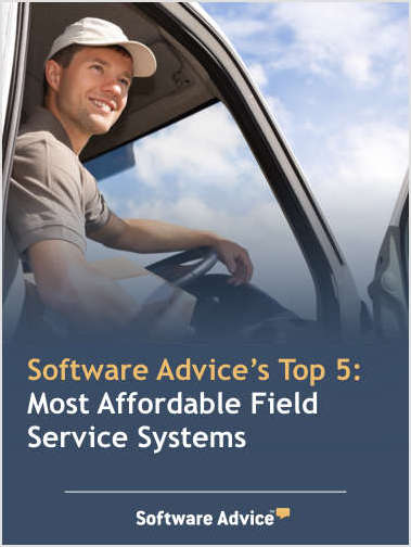 Software Advice's Top 5: Most Affordable Field Service Systems