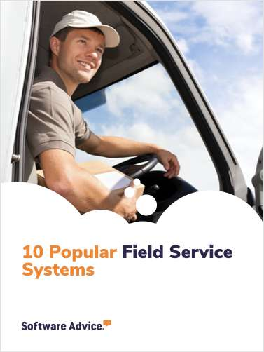 Software Advice's Top 10: Most Popular Field Service Software