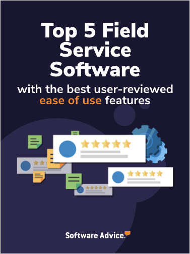Top 5 Field Service Management Software With the Best User-Reviewed Ease of Use Features