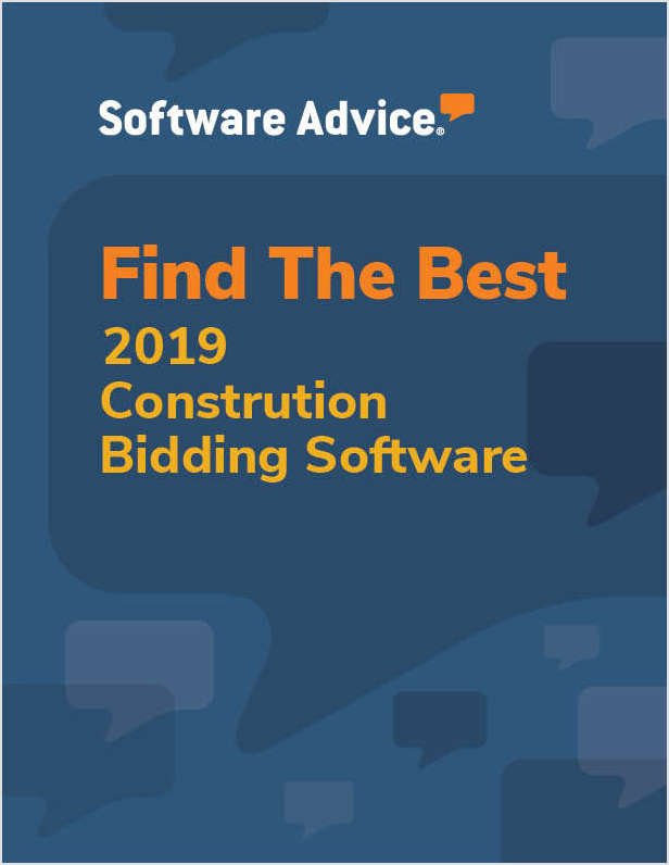 How Software Advice Can Help With Your Construction Bidding Software Search