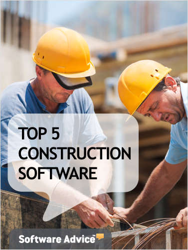 The Top 5 Construction Software - Get Unbiased Reviews & Price Quotes