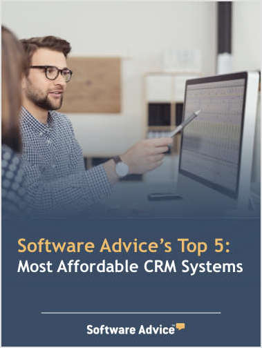 Software Advice's Top 5: Most Affordable CRM Systems