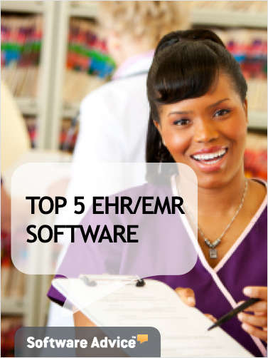The Top 5 EHR/EMR Software - Get Unbiased Reviews & Price Quotes