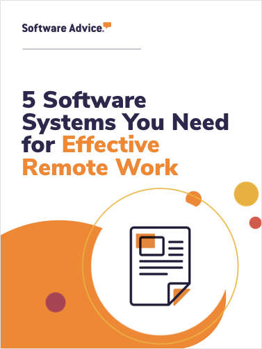 5 Software Systems You Need for Effective Remote Work