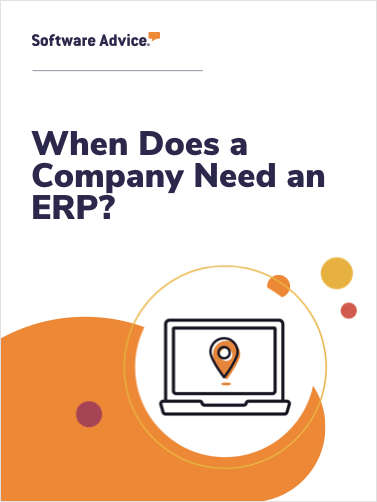 When Does a Company Need an ERP?