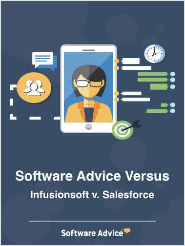 Software Advice Versus - Infusionsoft vs. Salesforce