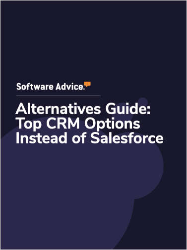 Software Advice Alternatives Guide: 5 Top CRM Options Instead of Salesforce