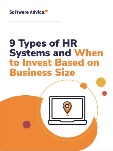 9 Types of HR Systems and When to Invest Based on Business Size