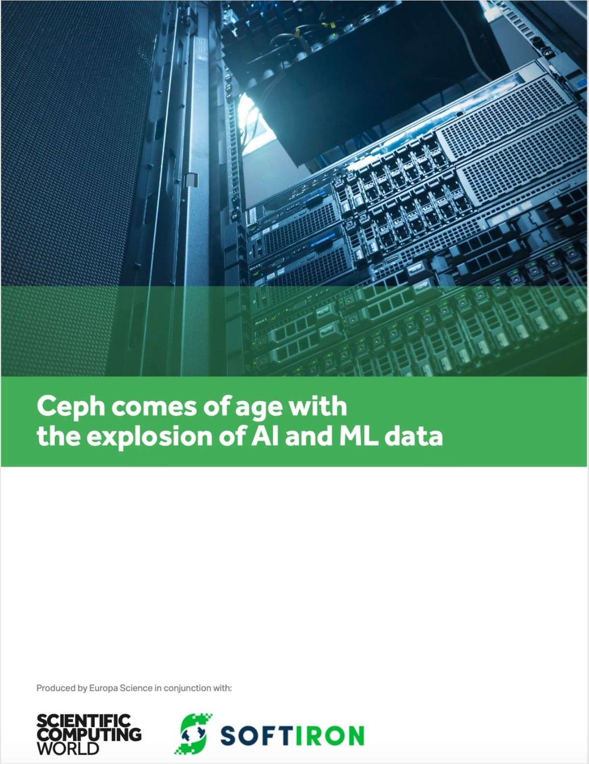 Ceph Comes of Age With the Explosion of AI and ML Data