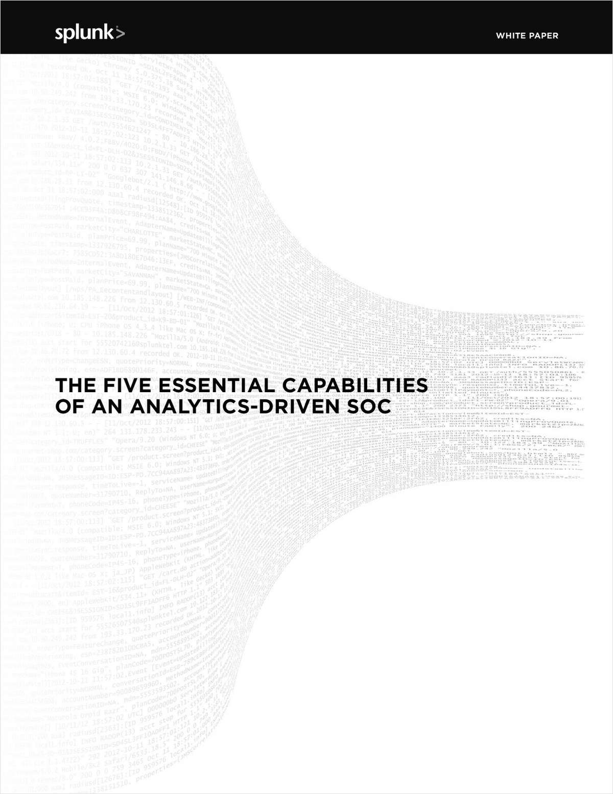 The Five Essential Capabilities of an Analytics-Driven SOC