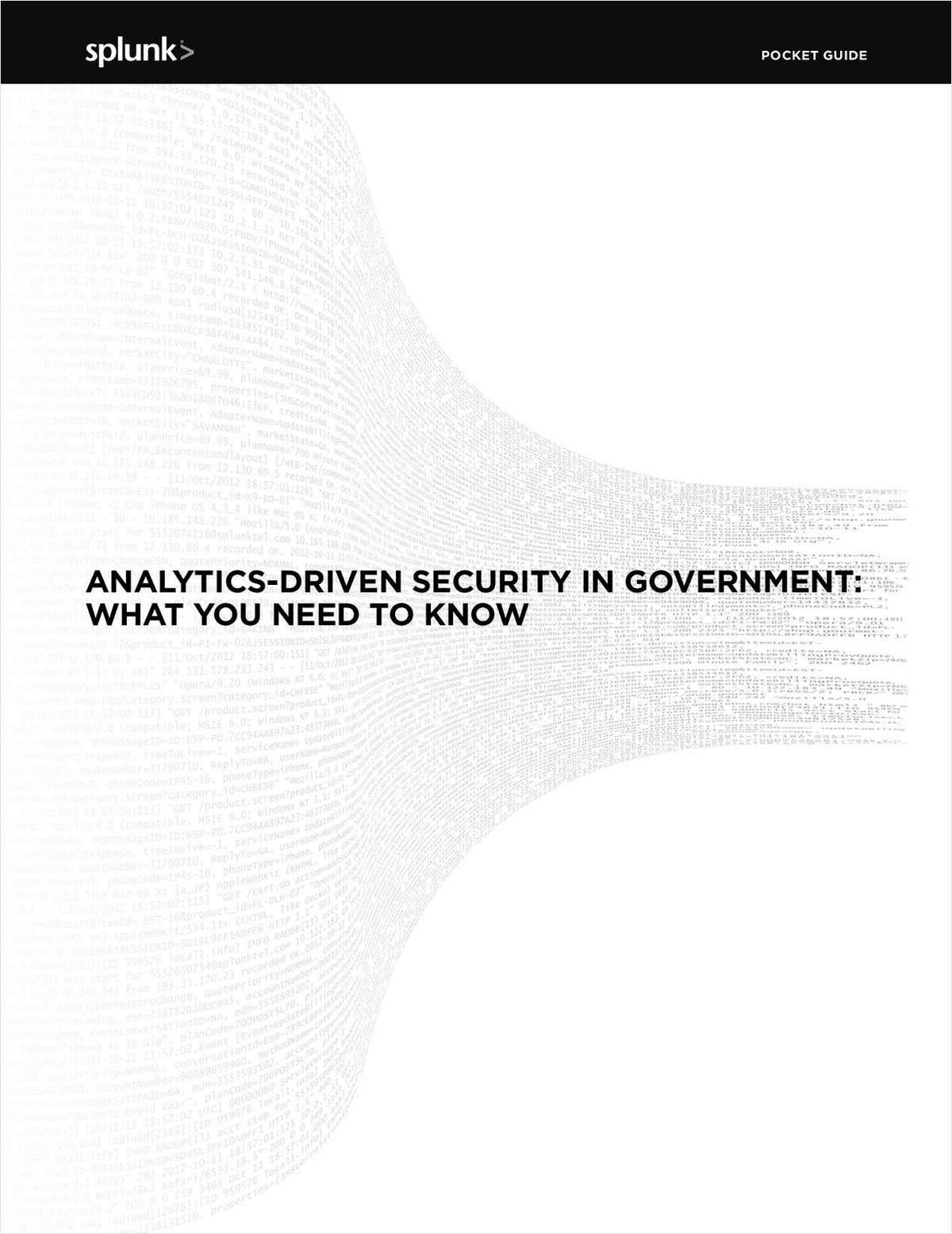 Analytics-Driven Security in Government, Free Splunk eBook