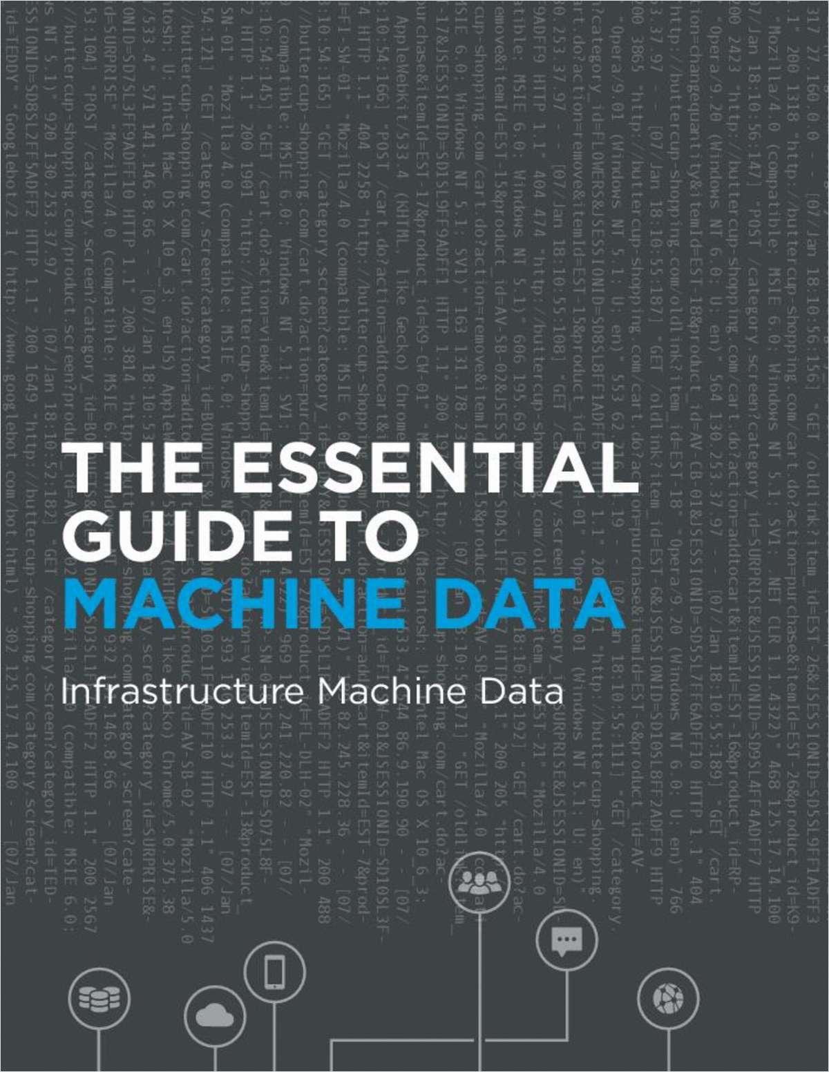 Essential Guide to Machine Data: Infrastructure Machine Data