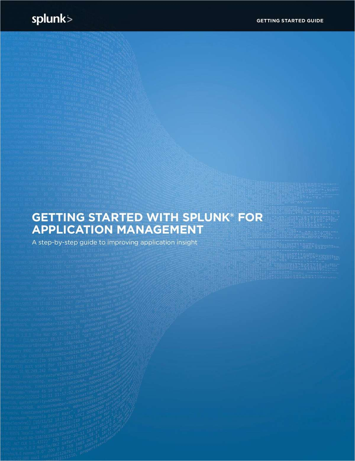 Getting Started with Splunk for Application Management