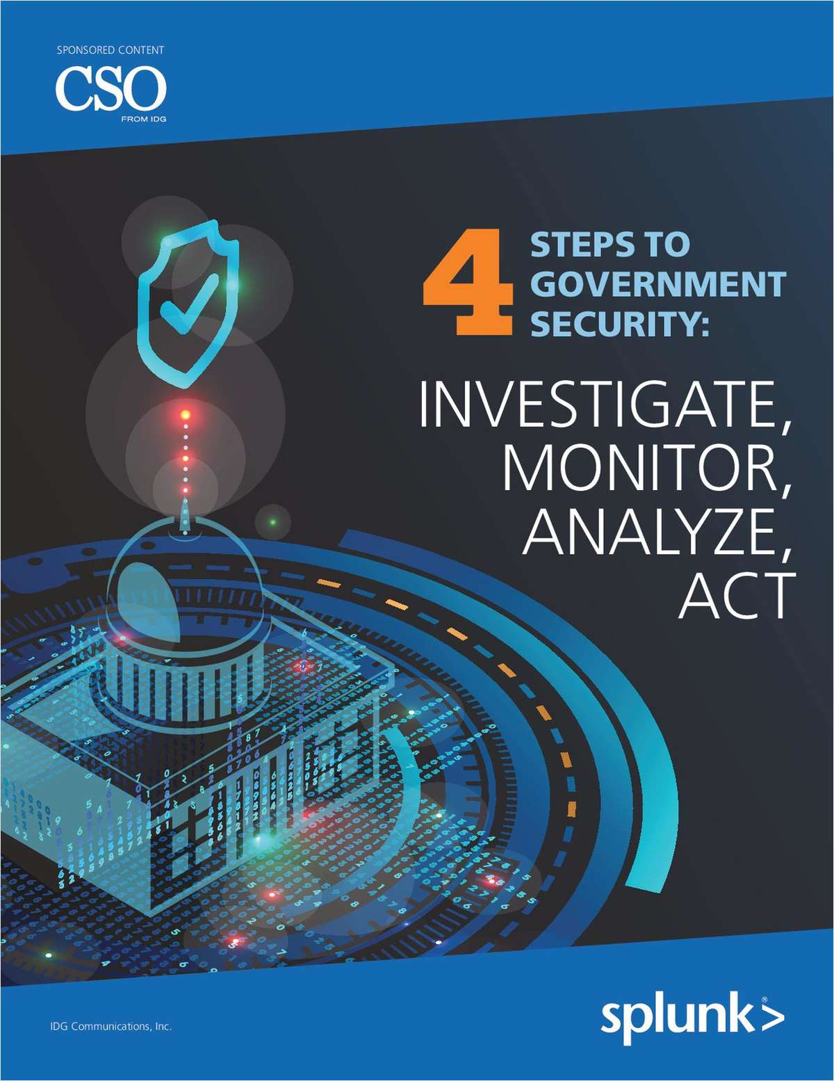 4 Steps to Government Security: Investigate, Monitor, Analyze, Act
