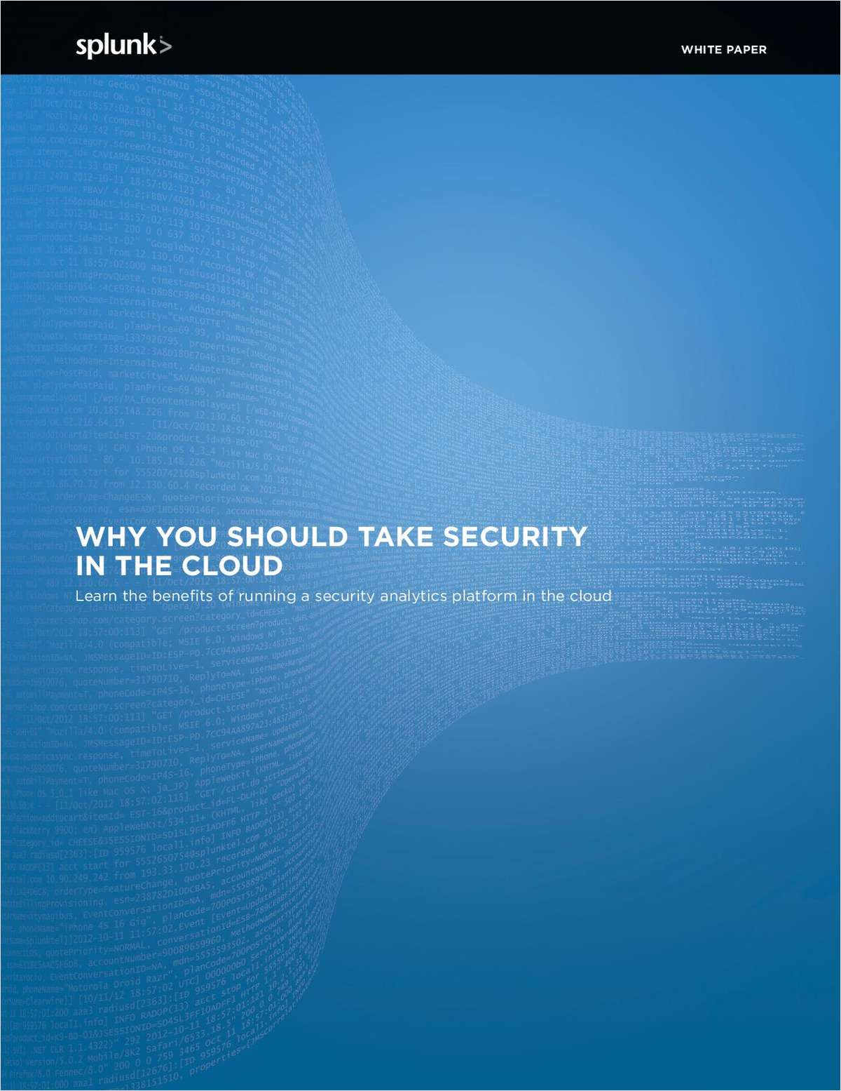 Why You Should Take Security to the Cloud