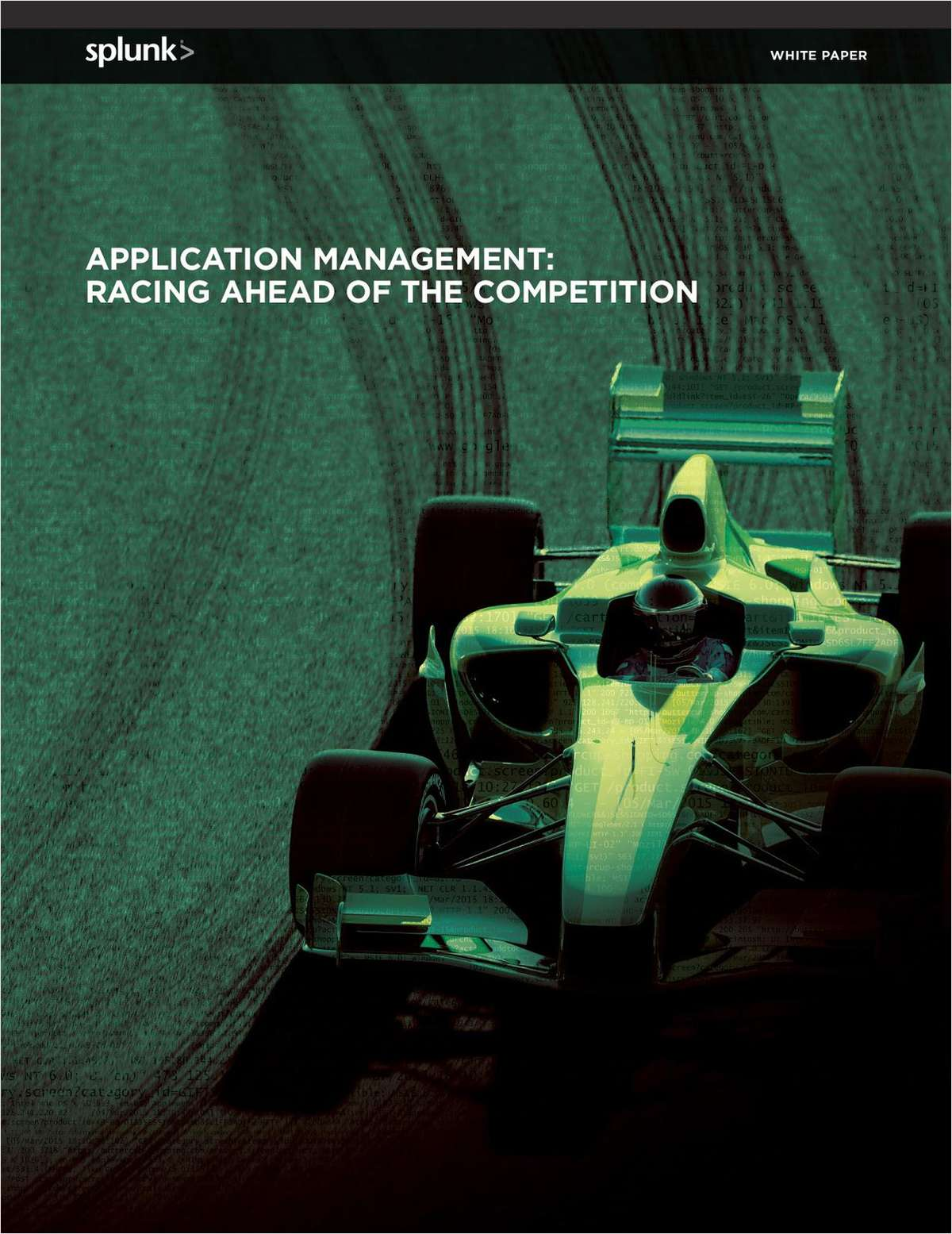 Application Management: Racing Ahead of the Competition