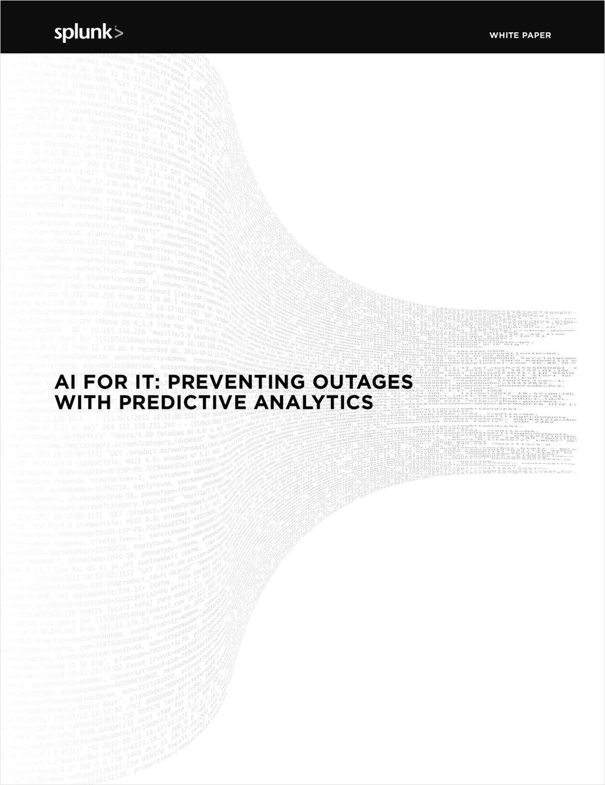 AI for IT: Preventing Outages with Predictive Analytics