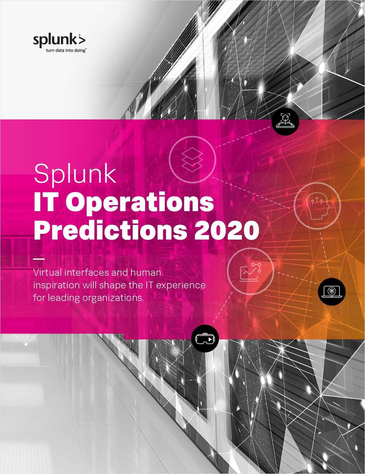 Splunk IT Predictions 2020