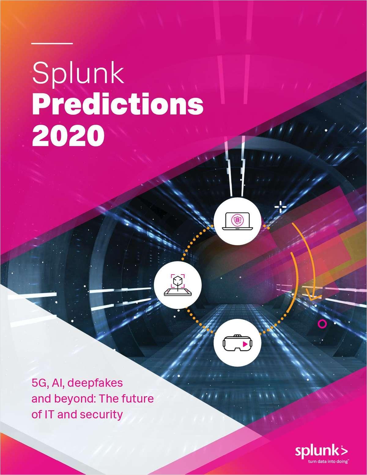 Splunk Predictions 2020