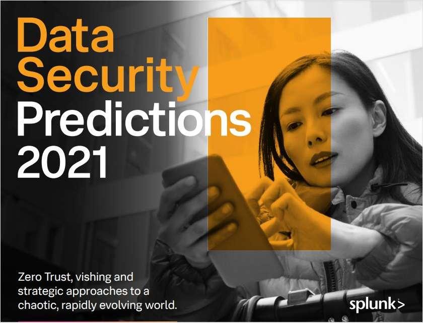 Splunk Security Predictions 2021