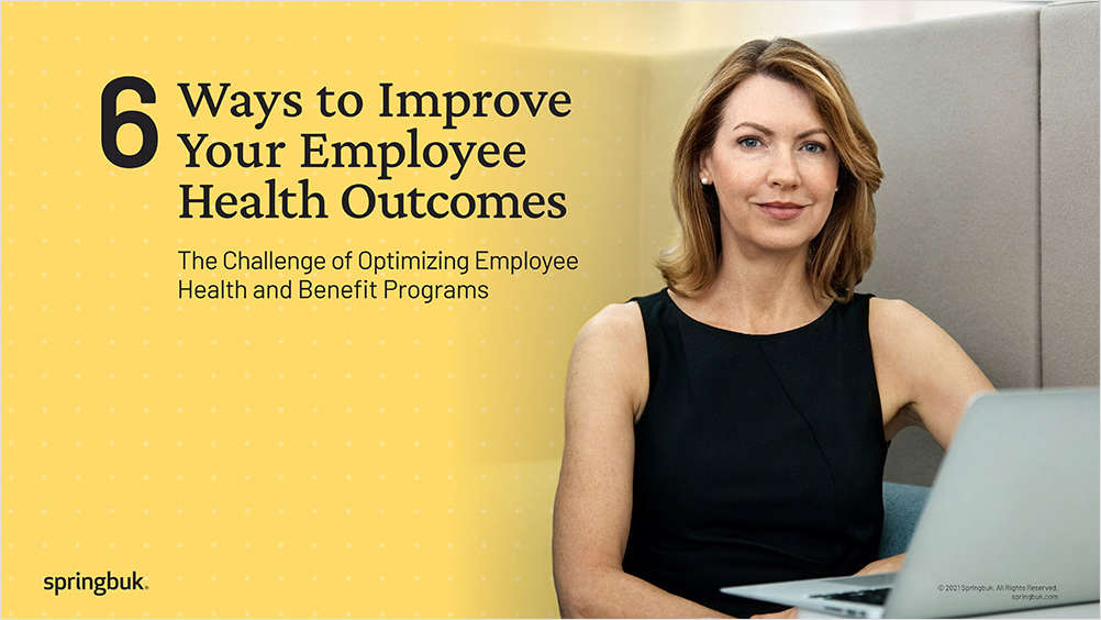 6 Ways to Improve Your Employee Health Outcomes