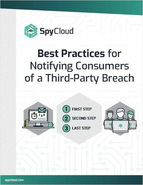 Best Practices for Notifying Consumers of a Third-Party Breach
