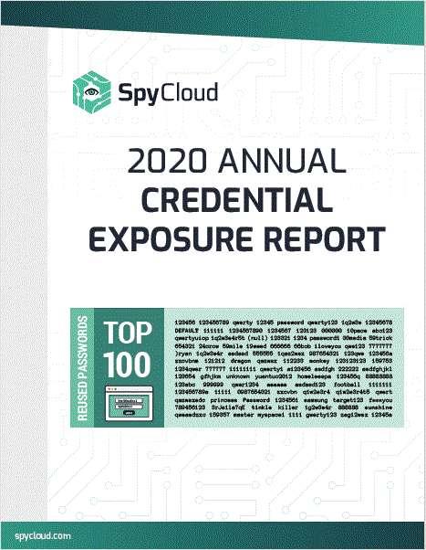 The 2020 Annual Credential Exposure Report