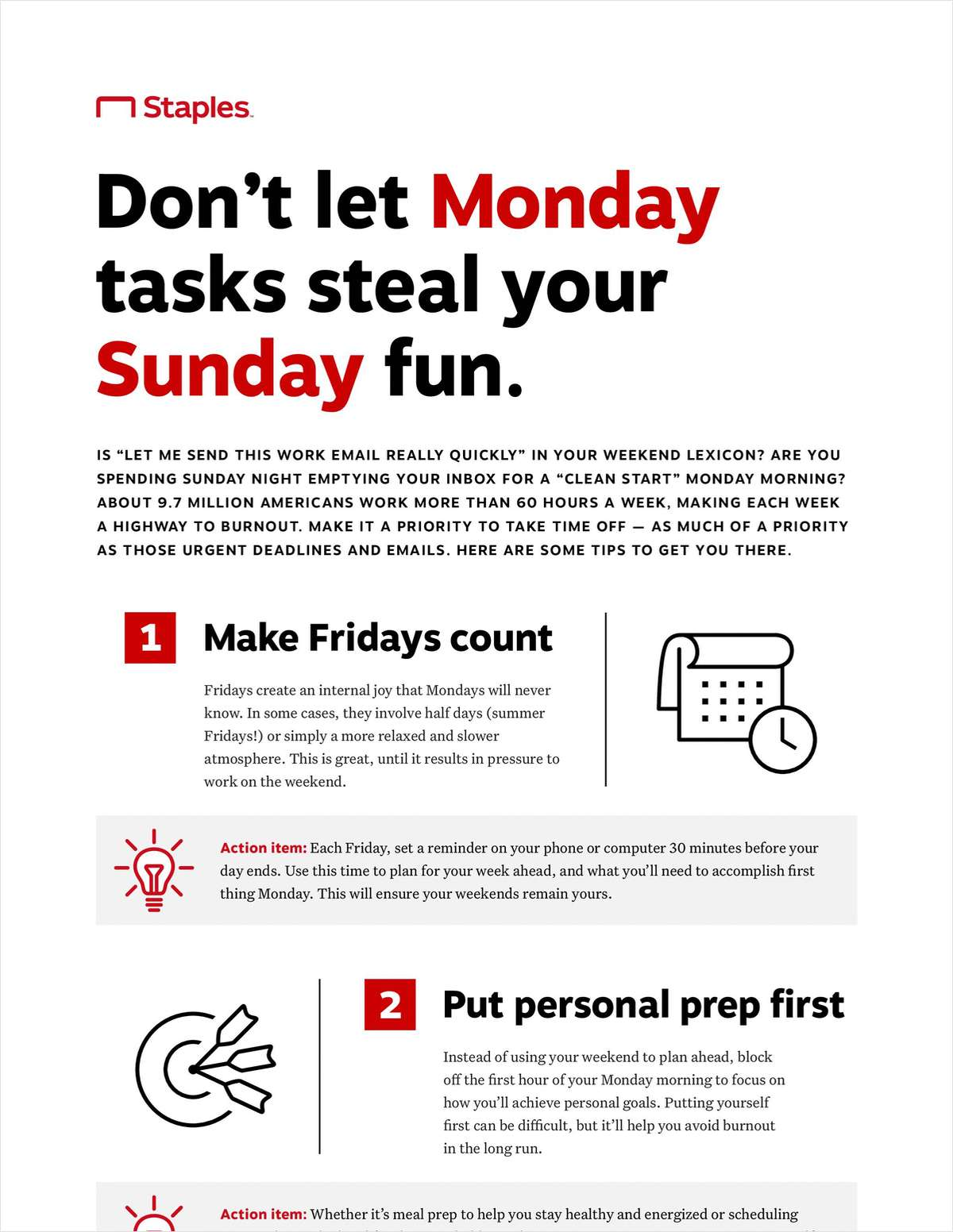 Does Work Creep Into Your Weekend?